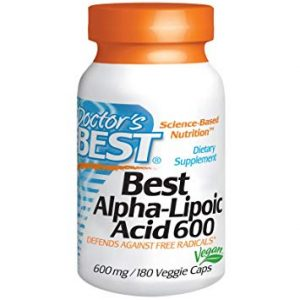 Doctor's Best, Alpha-Lipoic Acid, 600 mg, 180 Veggie Caps